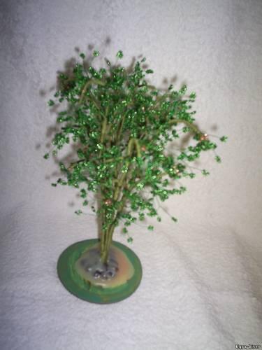 Югра бисер деревья из бисера